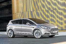 Ford presentó el prototipo 'S-MAX Vignale Concept' en Milán