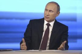 Putin advierte a Kiev sobre envío de tropas si no respeta a la minoría rusa