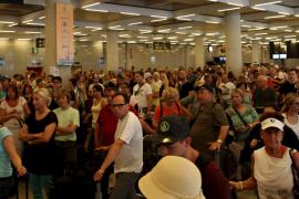 Los aeropuertos baleares prevén en Semana Santa un crecimiento en los vuelos del 27%
