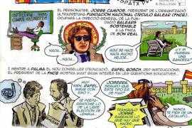 La Assemblea de Docents niega que haya repartido entre alumnos el cómic contra el Govern