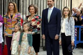 Los Reyes y Bauzá asistirán a  la Misa del Domingo de Pascua en Palma