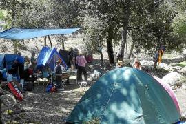 Las acampadas en Lluc remontan y la hospedería alcanza un 70% de ocupación