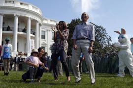 Los Obama llenan de niños la Casa Blanca para la carrera de huevos de Pascua
