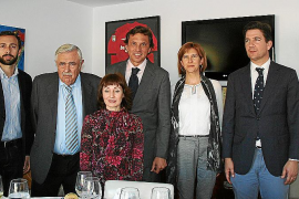 Encuentro de la Fundació d'Art Serra y el Museo Es Baluard