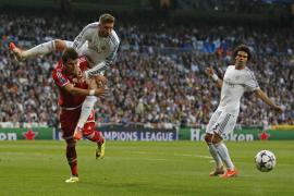 El Madrid visitará Múnich en ventaja tras ganar 1-0 al Bayern