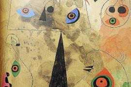 La obra de Miró aspira a récord en una subasta de mayo