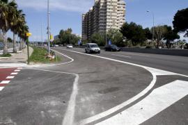 Abierta al tráfico la nueva salida que conecta la Ma-19 con el polígono de Llevant y el Portixol