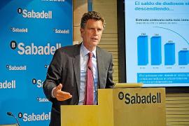El Banco de Sabadell logra un beneficio de 81,2 millones en el primer trimestre