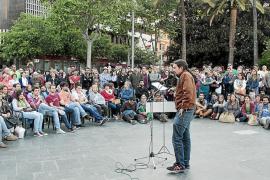 'Podemos' se presenta en Palma y augura que será la sorpresa de las europeas