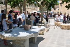 La piedra, protagonista en Binissalem