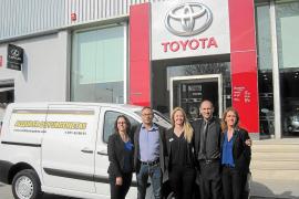 Medimotors entregó a Multiauto Palma la primera Toyota Proace