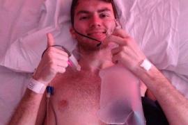 Un joven con cáncer terminal supera los 2,4 millones de euros en su campaña benéfica