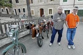 Jaume y Pep Palmer, enamorados del Mobylette