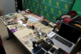 Dos menores entre los ocho detenidos por más de 30 robos en casas de Mallorca