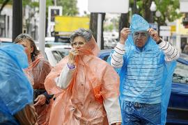 Las temperaturas máximas cayeron ayer en Mallorca entre 5º y 10º en un sólo día
