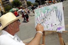 El arte 'toma' el Parc de ses Estacions