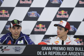 Lorenzo: «Está muy fuerte y va con más confianza que el año pasado»