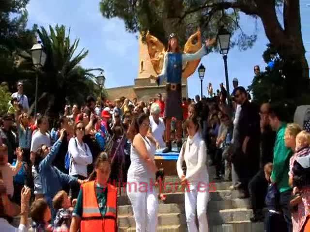 Palma celebra el Diumenge de l'Àngel