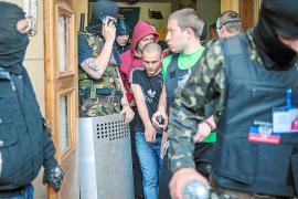Rebeldes prorrusos toman la televisión de Donetsk para emitir canales de Moscú