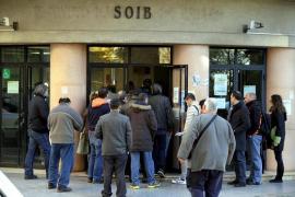 El paro aumenta en 18.800 personas en el primer trimestre en Balears