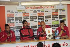 Capitanes del Mallorca piden el apoyo de la afición