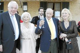Fiesta de Josef Egger en el Castillo Hotel Son Vida