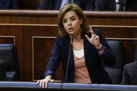 Soraya Sáenz de Santamaría: «En mi puta vida he cobrado un sobre»