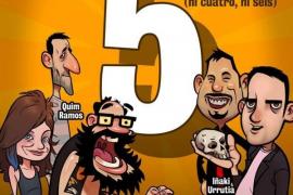 "Paramount Comedy: ""5, (ni cuatro ni seis)"""