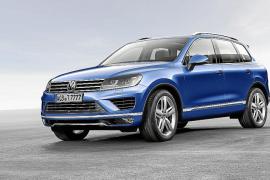 El nuevo Volkswagen Touareg, en el  'Auto China 2014'