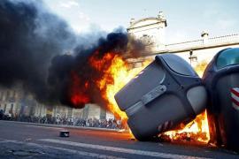 Cuatro detenidos en Barcelona tras una manifestación alternativa del 1 de Mayo