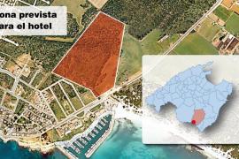 El Tribunal Superior paraliza la construcción del polémico complejo hotelero de sa Ràpita
