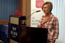Rosa Díez: «UPyD sólo confía en los ciudadanos para regenerar la política»