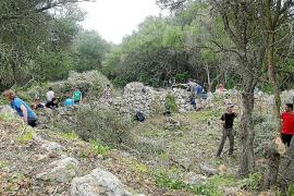El poblado talayótico de es Rossell ya se puede visitar tras una gran limpieza