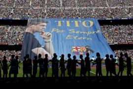 El Camp Nou ofrece la última despedida a Tito Vilanova