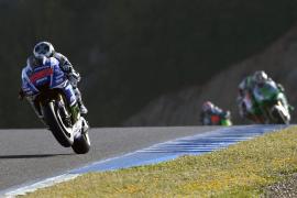 Lorenzo: «No me  encontré muy cómodo con los neumáticos»