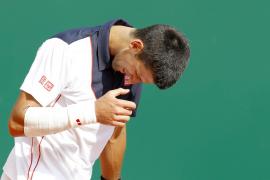 Djokovic, baja en Madrid por una lesión en el brazo derecho