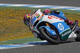 Salom: «No me he encontrado  bien con la moto en toda la carrera»