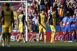 El Levante frena al Atlético en su camino al título