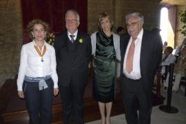 Bernat Vicens y Aina Calafat contrajeron matrimonio en una emotiva ceremonia