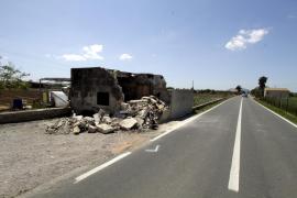 Un conductor muere en un accidente en la carretera de sa Pobla a Alcúdia