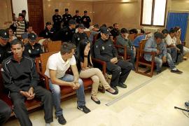 Los acusados del clan de 'La Paca' admiten que traficaban con drogas