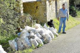 Preocupación en Capdellà por el vertido incontrolado de escombros en fincas