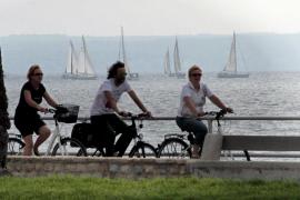 Crece un 26,29% el tránsito de bicicletas por Palma de enero a abril