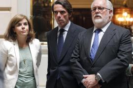 Aznar subraya su compromiso con el PP y pide movilización ante las elecciones