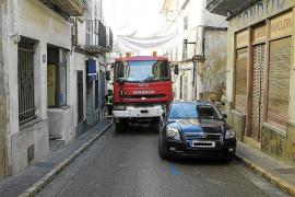 La mejora de las calles cercanas al Ayuntamiento de Felanitx facilitará los accesos al centro