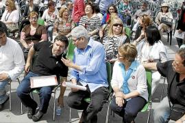 Javier Couso pide en Palma el voto para frenar los recortes sociales en Europa