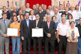 Homenaje del Govern a los grandes donantes de sangre de Mallorca