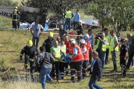 Condecorados los guardias civiles de Marratxí que rescataron al piloto de la avioneta estrellada en 2013