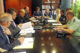 Los cuerpos policiales se coordinarán contra los delitos en la Platja de Palma