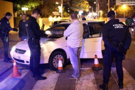 La Policía Local destina más de 25 agentes a la vigilancia nocturna de la Platja de Palma
